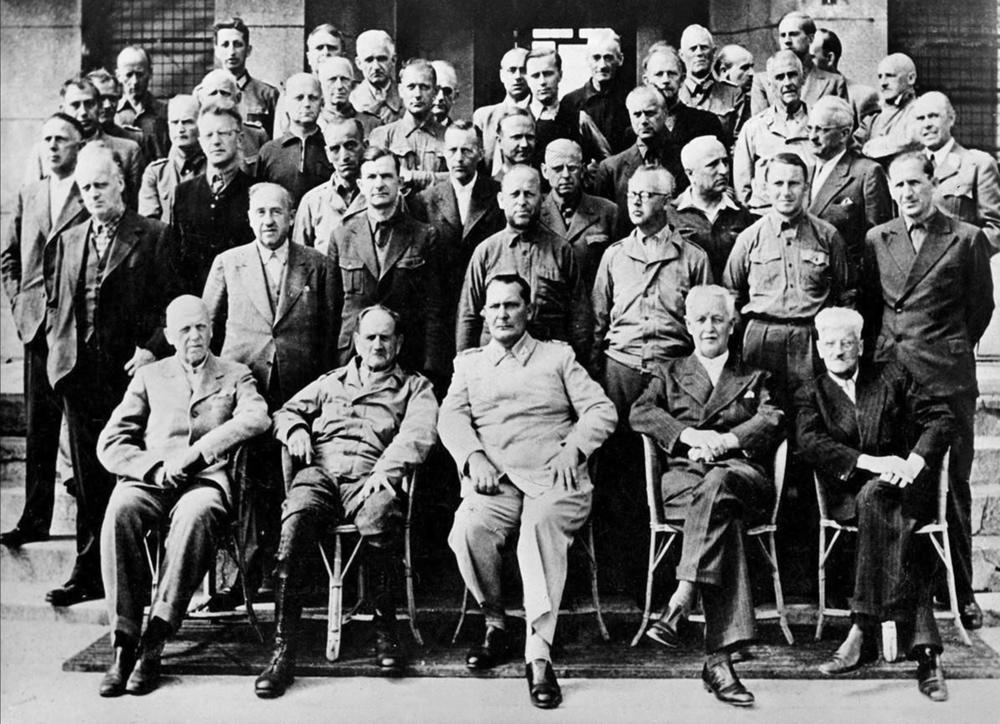 Nazi war criminals stayed in Montorf-less-Paines before being transferred to Nuremberg.