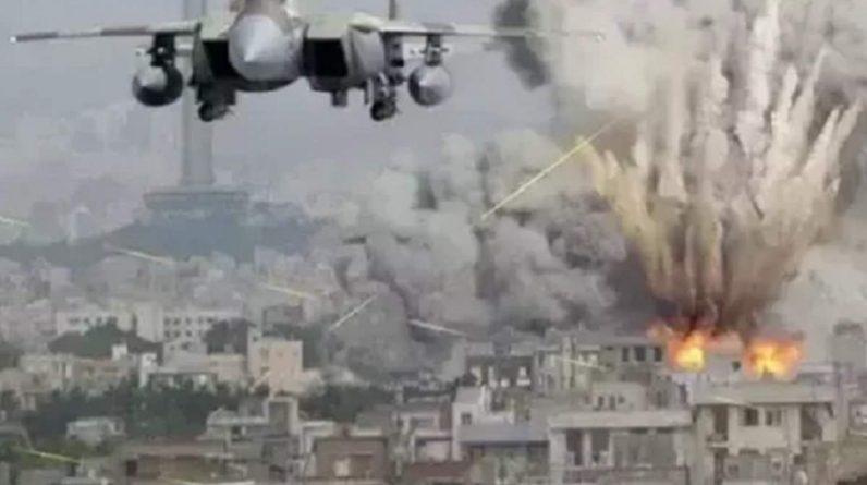 Israeli warplanes wreak havoc in Syria, dozens killed in fierce bombing - Dozens killed in Israeli airstrikes in eastern Syria
