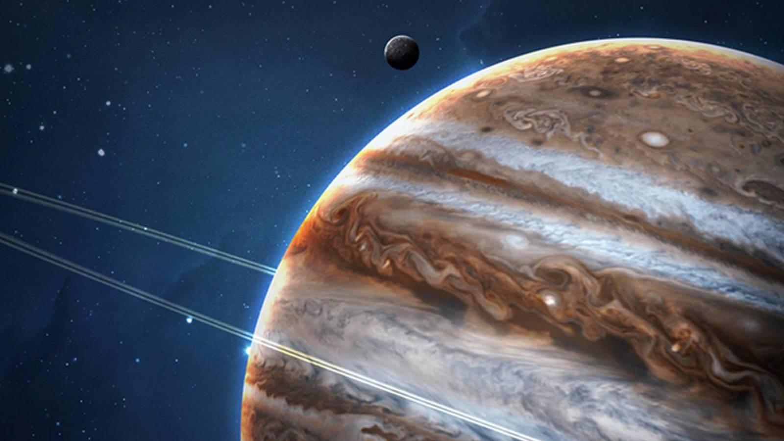 Planetta Jupiter Aurora