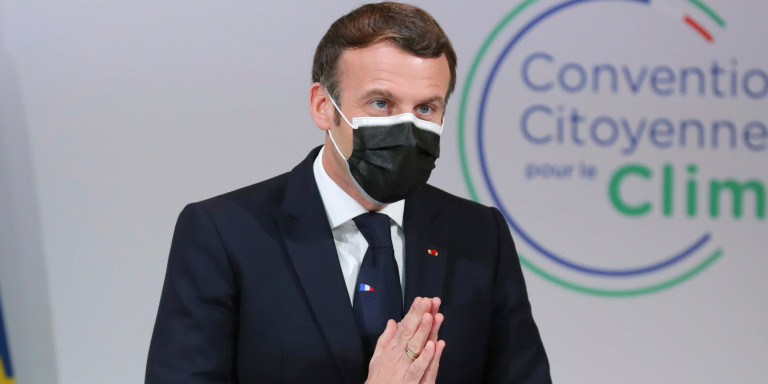 "Macron to the French: ""We have become 66 million accused - do not exaggerate it with criticism"" 