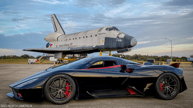 Super car reaches crazy speed - miscellaneous