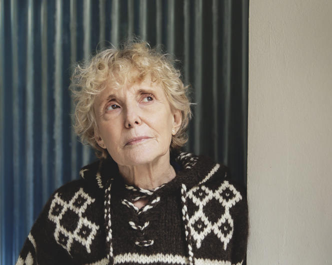 Director Claire Denis, January 3, at her home in Paris.