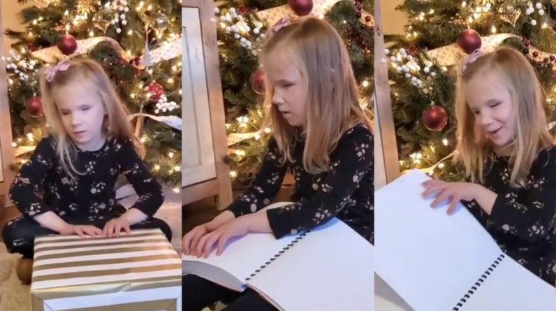 Viral Video |  A moving woman's reaction to getting Harry Potter books in Braille |  Viral