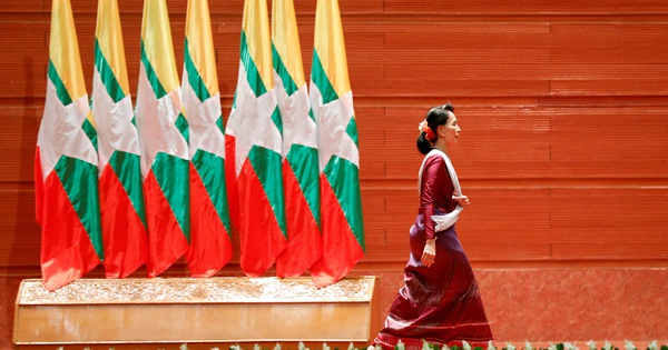 Why is the big event happening in Myanmar?