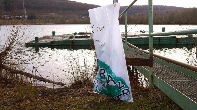 Des poubelles « Natural Born Cleaners » installées à Amay :«On ne sait pas qui c'est»