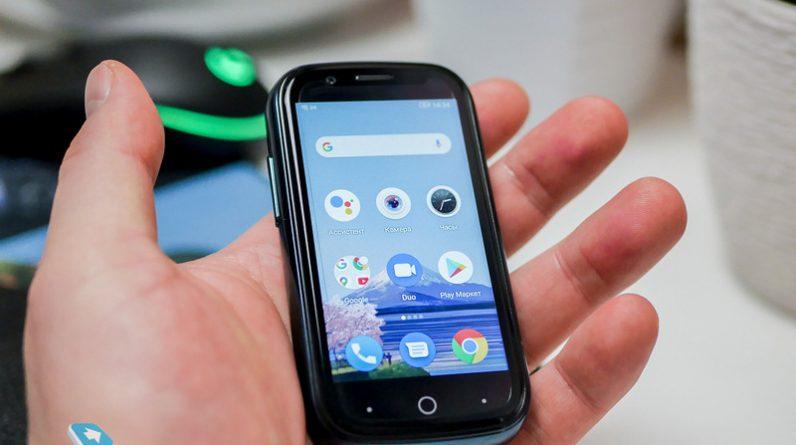 Mobile-review.com Unihertz Jelly 2