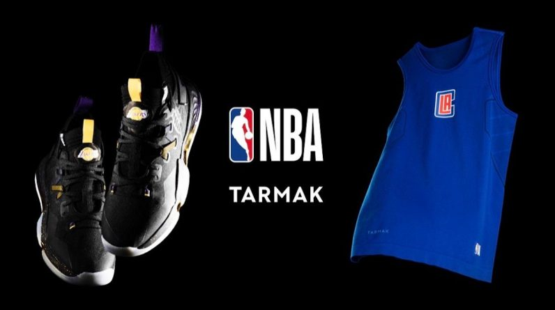 The NBA comes into effect in the Dormac collection from Decathlon