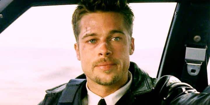 Brad Pitt was seriously injured during the filming of Se7en!