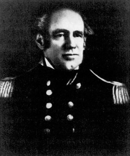 General Jones in 1842.  Photo: US Navy.
