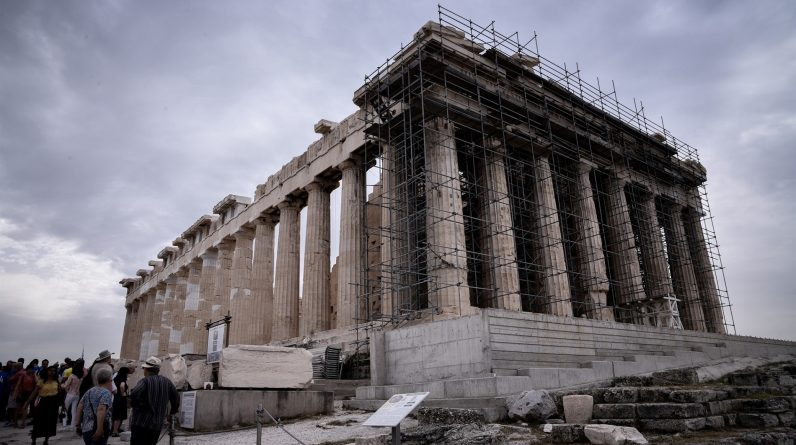 Fake news about the Acropolis is back in the air!