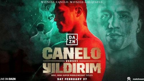 Avni Yildrim vs Canolo Alvarez Live on DAZN in USA, South America and the rest of the world