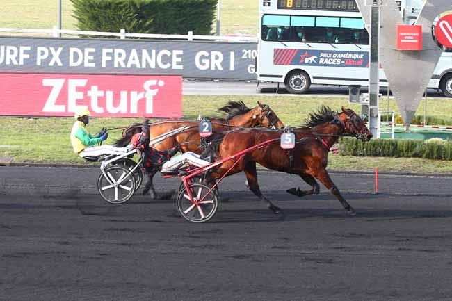 BMU RACE END PRIX D'AMERIQUE RACES ZETURF - PRIX DE FRANCE