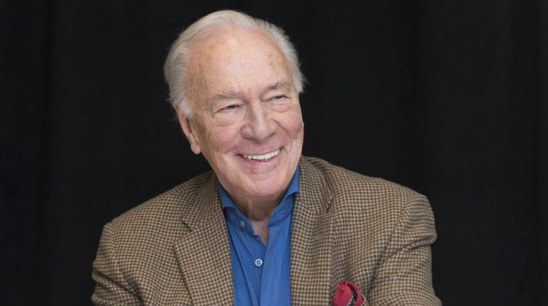 Death of Christopher Plummer (Song of Happiness) at 91 years of age