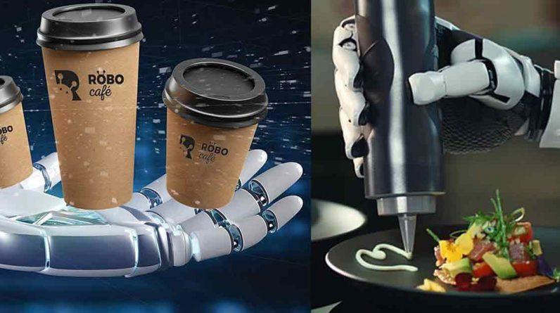 Robot-cafe