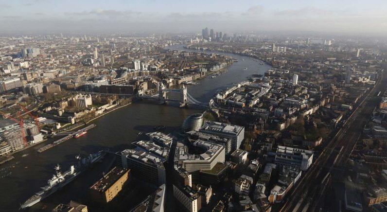 La ville de Londres.