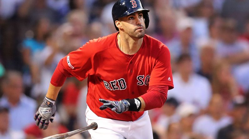 J.D.  Martinez wants to be a Red Sox legend