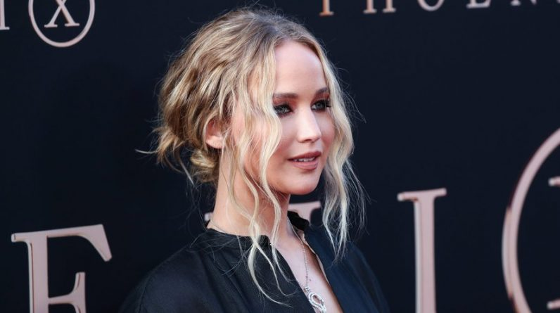 Jennifer Lawrence was admitted to hospital with an eye injury while shooting through the glass
