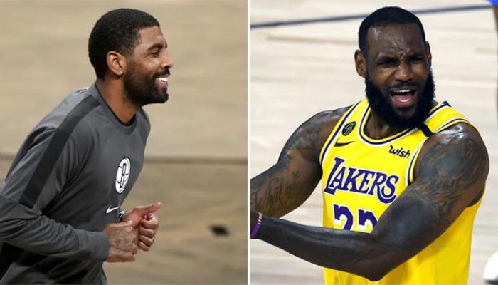 Kyrie Irving humilie LeBron en plein match après un raté ! NBA