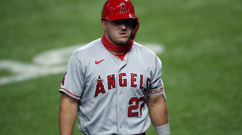 Mike Trout is not happy with his 2020 season