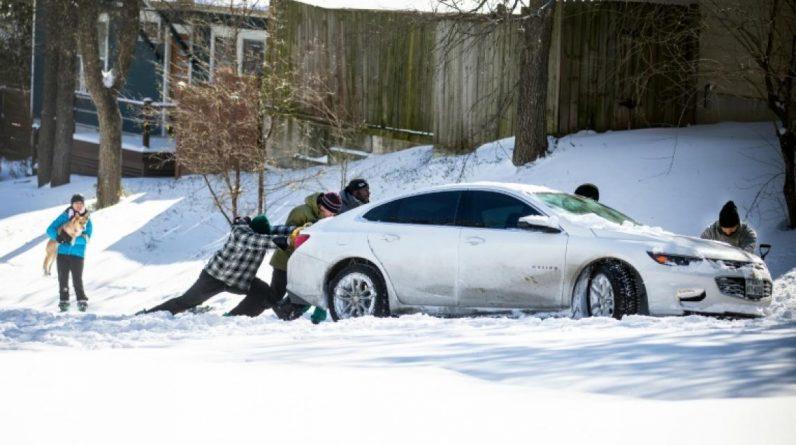 Des millions d'Américains sans électricité en pleine vague de froid polaire