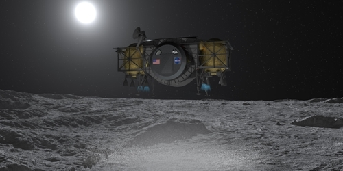 NASA already has a rocket and a ship to fly to the moon.  But astronauts have nothing to land - VTM.cz
