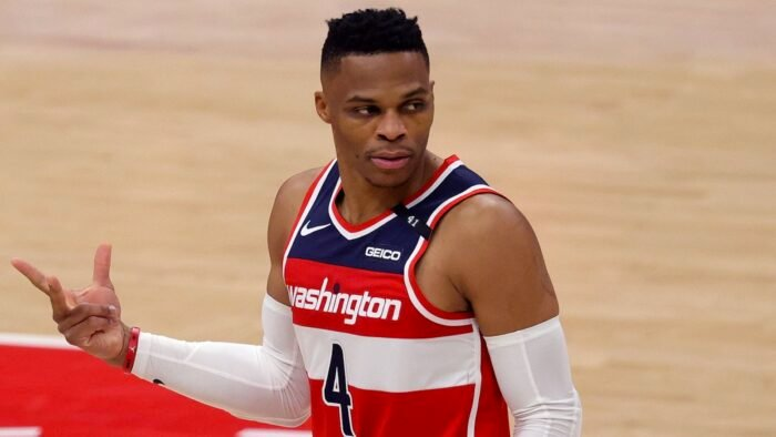 Russell Westbrook des Wizards