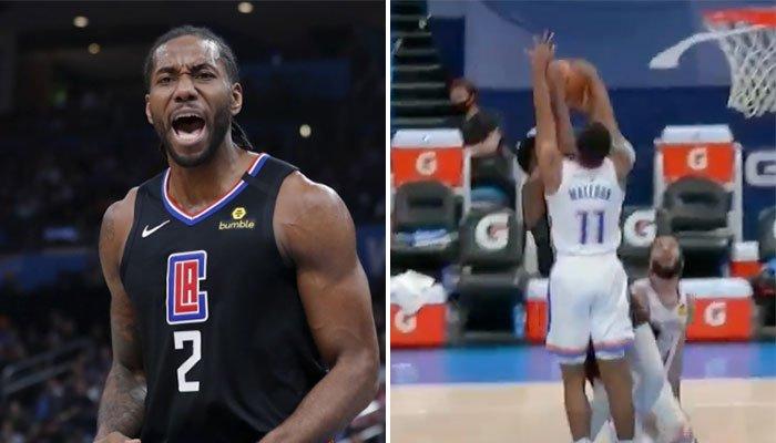L'impressionnante action à la Kawhi de Théo Maledon ! NBA