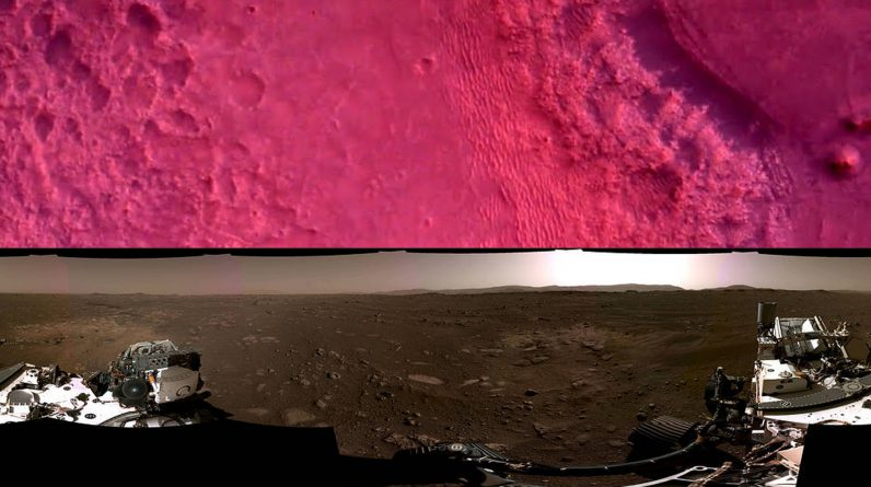 """Watch: NASA shares Mars diligence rover landing video, a breathtaking """"front-row view"""""""