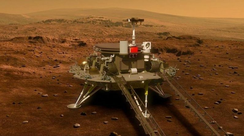 Watch the spectacular video of Mars taken by the Chinese spacecraft - VTM.cz