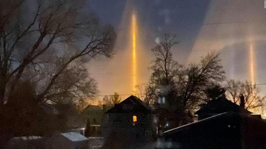Nebraska is an optical phenomenon that illuminates the sky