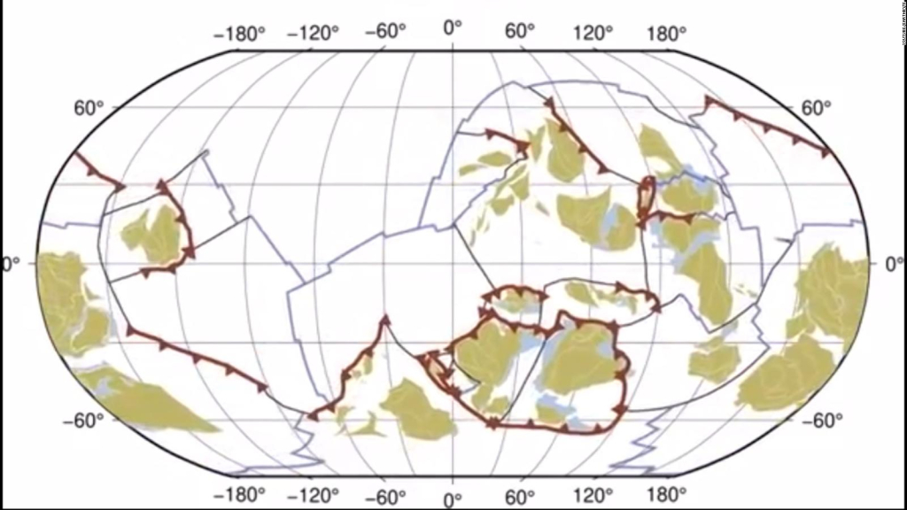 This is how the earth changed for 1 billion years