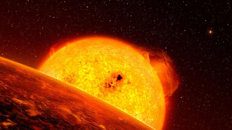 For the first time, astronomers have evidence of tectonic activity on an exoplanet