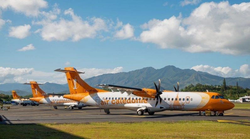 Air Kalidoni sends ATR planes to Australia to escape the hurricane