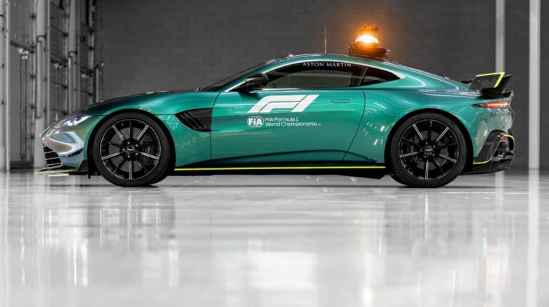 F1 - Aston Martin et Mercedes fourniront la Safety Car à la F1