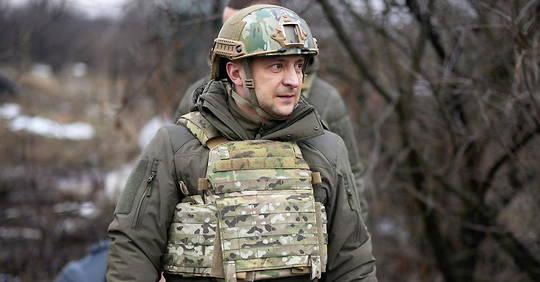 Ukraine: President Zhelensky on the task of recapturing the United States
