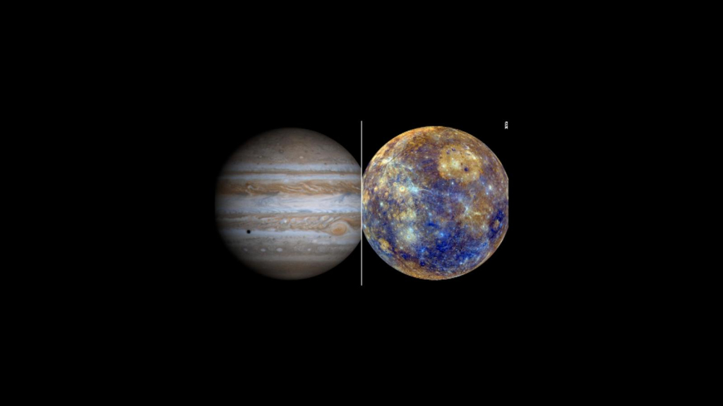 Notice the planetary connection between Jupiter and Mercury