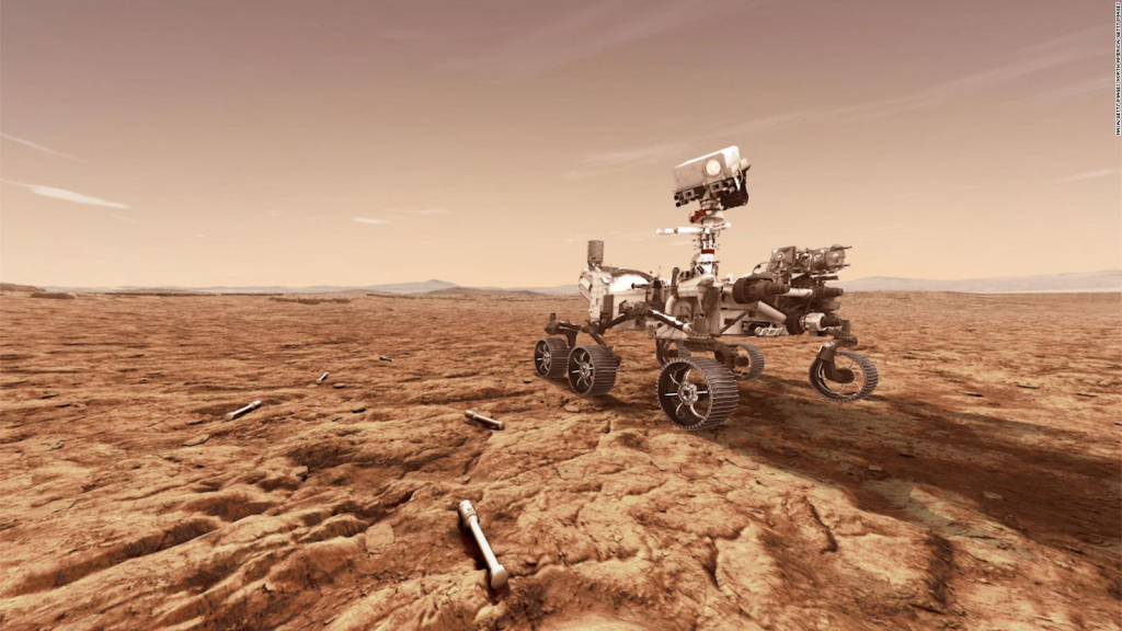 The rover's diligence made its maiden voyage to Mars