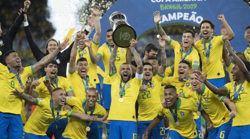Équipe du Brésil championne en 2019