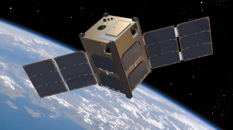 Atmospheric-tracking satellites to ride in space flight space drag