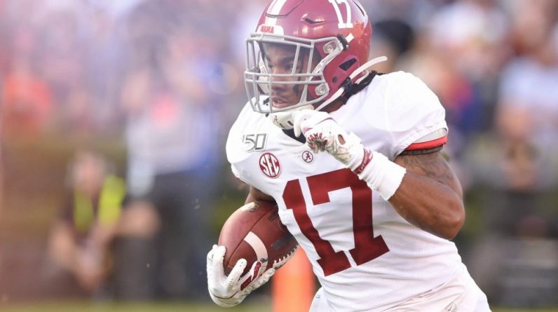 [Fiches Draft] Jaylan Vadil (WR), electric battery |  Touchdown Act (NFL Act)