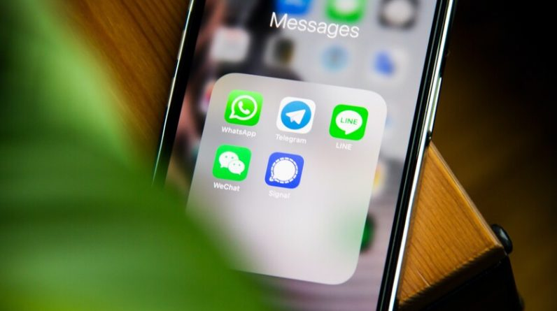 The use of WhatsApp in the corporate environment is enormous.  This is a mistake in many ways
