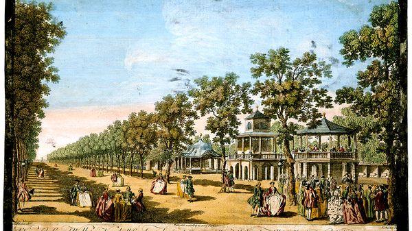 Gardens of Pleasure, music entertainment in 19th century London