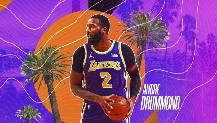 Andre Drummond's distorted statement for his first press conference in LA