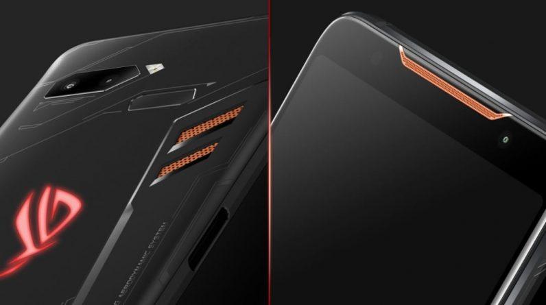 Asus Rock Phone 5 comes with registered RAM Asus smartphones |  Gaming smartphones