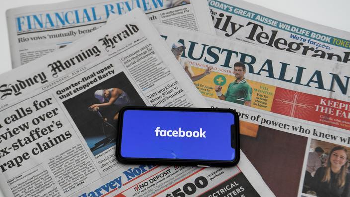 Canberra estime que la loi va contribuer «à faire vivre le journalisme d