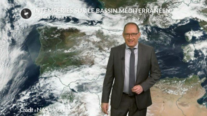 Bad weather in the Mediterranean