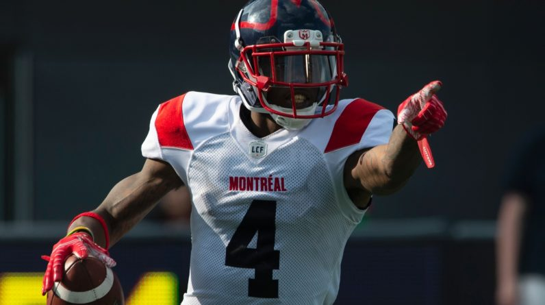 CFL: Alloutes retains the services of receiver Quan Bray