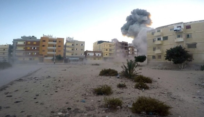Egypt: 12,350 buildings demolished by the military in the Sinai (HRW)