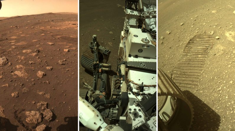 Historical Images: NASA operates on Mars