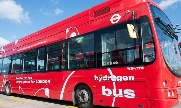 bus hydrogène Royaume Uni